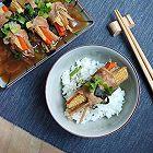 金针菇蔬菜猪肉卷