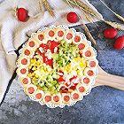 花边腊味缤纷披萨