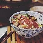 铸铁锅版的美味腊肠煲仔饭