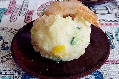 鲜虾土豆泥沙拉