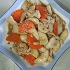 杏鲍菇炒鸡肉