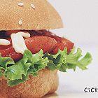 汉堡-奥尔良烤鸡腿堡