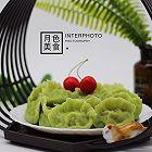 香椿南极磷虾翠玉饺子