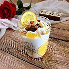 橙香酸奶杯