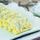 紫菜银鱼鸡蛋糕