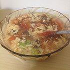 西红柿鸡蛋紫菜汤