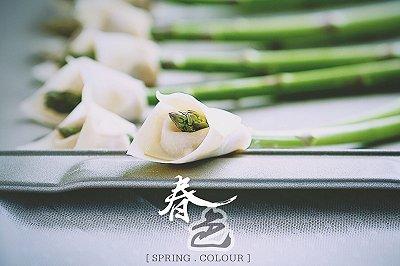 春色马蹄莲馄饨