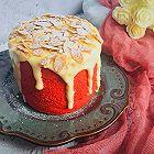 红丝绒奶盖蛋糕