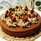 6寸巧克力栗子慕斯蛋糕118