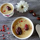栗子红枣小米粥