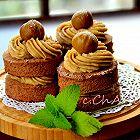 糖霜栗子奶油蛋糕