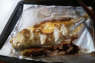孜然香烤鱼