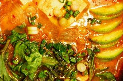 逼格满满的泡菜豆腐锅