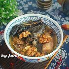 核桃淮山莲子乌鸡汤