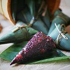 紫米八宝锥形粽子
