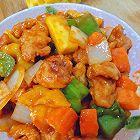 芒果菠萝鸡
