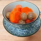 桂圆红萝卜甜汤