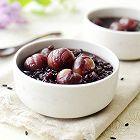 紫米桂圆粥