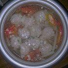 白萝卜肉丸汤