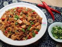 新手料理:香煎豆腐