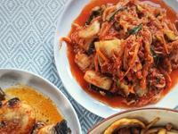 韩式泡菜嫩炒鸡胸肉