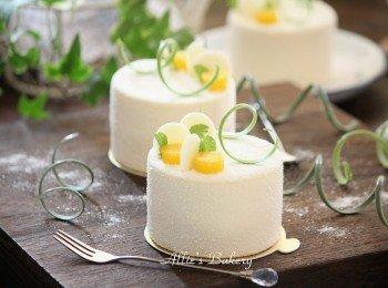 芒果软芝士蛋糕