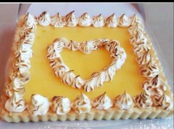 蛋白霜柠檬挞