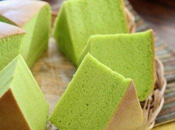 斑兰椰香棉花蛋糕