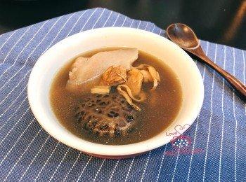 日月鱼淮山猪展汤