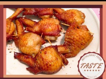 糯米酿鸡翼