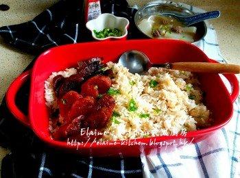 腊味饭:韩式萝�N牛肉清汤
