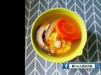 印度椰子鲜淮山栗子汤