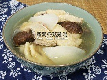 萝�N冬菇鸡汤