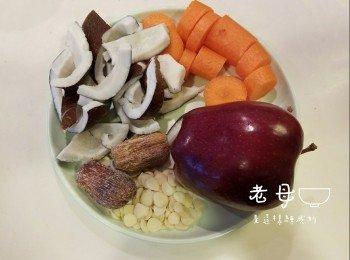 【清热补脾】印度椰子苹果汤
