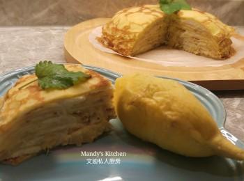 榴槤千层蛋糕