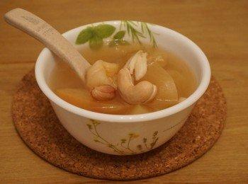 鲜百合无花果素汤