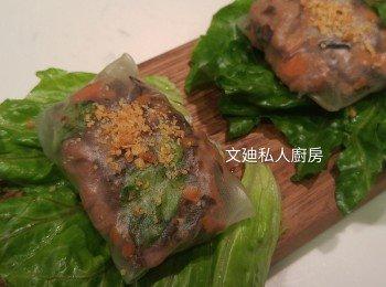 越式牛肉粉包
