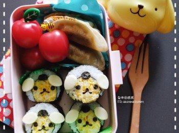 布甸狗蛋寿司卷