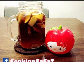 《黑糖香茅苹果茶》