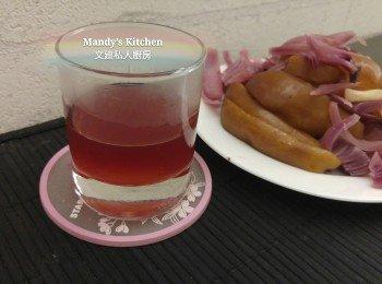 炖紫洋葱苹果