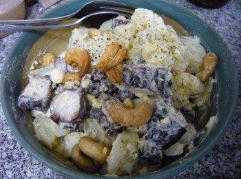 芥末八爪鱼薯仔蛋沙律
