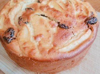 午茶时刻~ 苹果隐形蛋糕