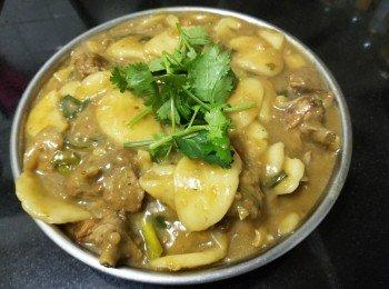 韩式年糕苹果焖米鸭