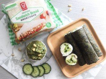 滋味青酱寿司卷