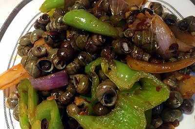 温州人口味的炒螺丝