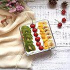 炎炎夏日~冰爽酸奶水果盒子