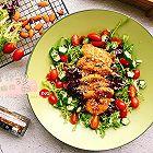 蜜汁鸡胸肉蔬菜沙拉