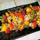 蔬菜鸡肉串