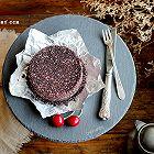 椰香黑米蒸糕