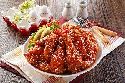 韩式炸鸡(甜辣)